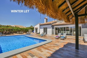 Luxury villa for winter rental in Javea.