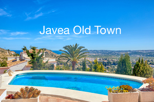 Villa for sale in Javea Old town with sea views