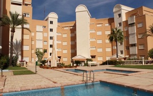 Unfurnished apartment Javea with sea views.