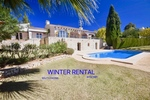 South facing Villa for winter rental Javea Montgo