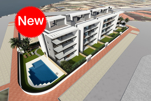 New 3 bedroom ground floor apartments for sale in Javea