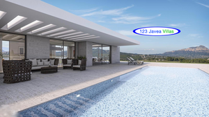 Javea Luxury new build villa for sale on one level