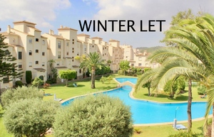 Ground floor winter rental in Javea Arenal.