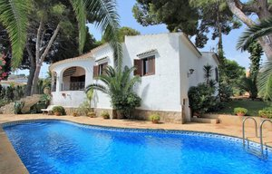 Traditional villa for sale in Toscal Javea