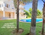 Unfurnished apartment to let in Javea Port.