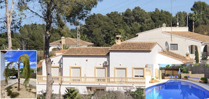 Large family villa for sale in Javea