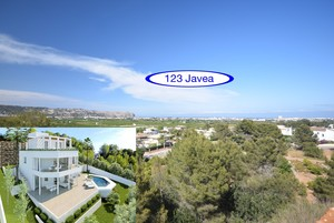 New Villa for sale with sea views in Javea