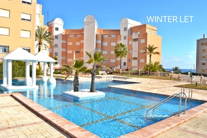 1 bedroom winter let Javea Arenal.