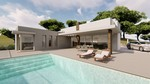 New Villa with pool for sale in Benitachell