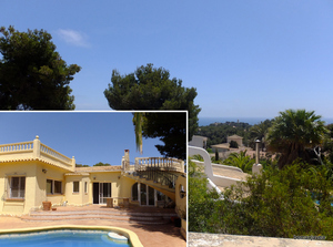 Portichol Javea Spacious South Facing Villa For Sale