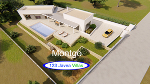New build villa for sale Montgo Javea