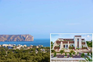 Completed new build villa. with sea views  for sale in Javea