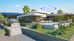 Modern new build villa in Javea with sea view for sale