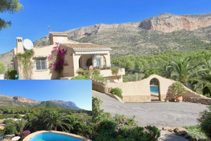 Javea Montgo lovely villa for sale