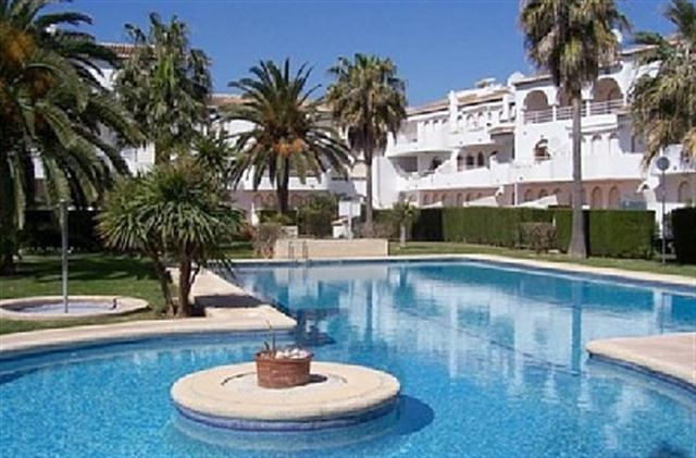 Modern apartment to let in javea