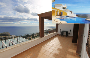 Modern apartment for sale with sea view in Javea