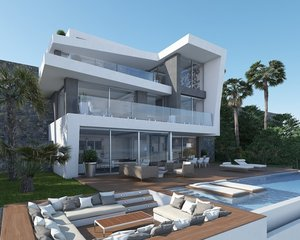 New build villa for sale with sea views in Javea