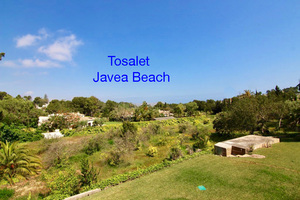 Building plots for sale Tosalet Javea