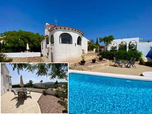 Villa avec terrain privé exposé sud à vendre à Pedreguer