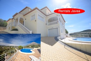 Modern villa to let Javea.