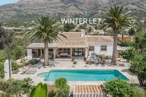 Winter let Javea, Montgo.