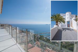 Villa de lujo en venta en Javea con vistas al mar