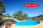 Luxury villa to let in Javea with sea views