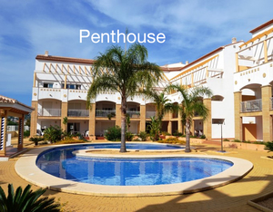 Top floor Apartment to rent in Javea long term.