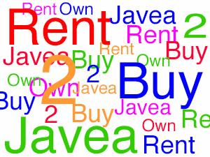 Louer avec Option d'achat à Javea