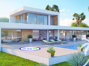 New villa construction for sale in javea