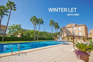 Ground floor apartment for winter let Javea.