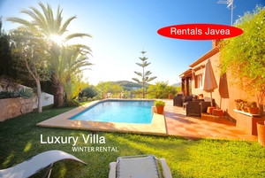 Luxury villa to rent for winter in Javea