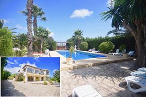 Large 6 bedroom villa for winter rental in Javea
