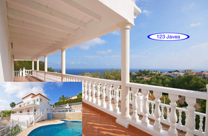 Modern villa for sale in Javea with sea view