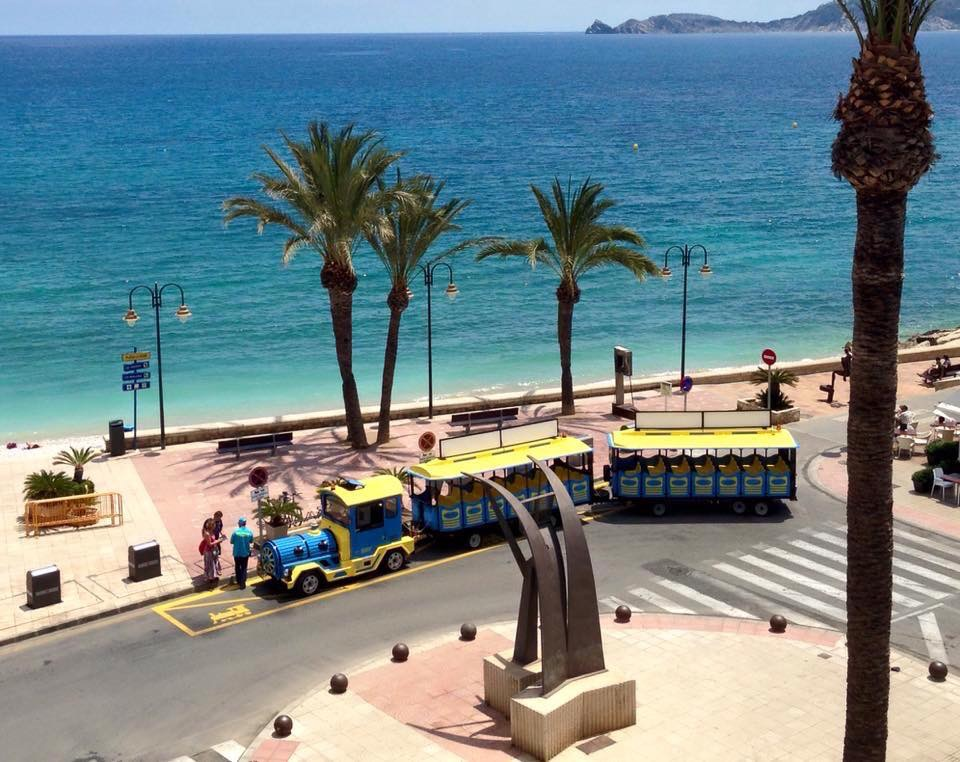Javea train service