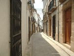 Javea Old Town Streets