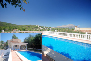 Villa for sale with separate apartment in Javea