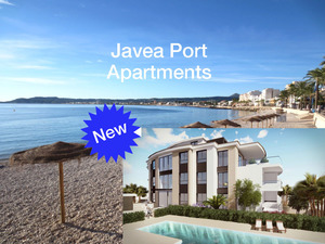 New Apartments for sale in Javea Port