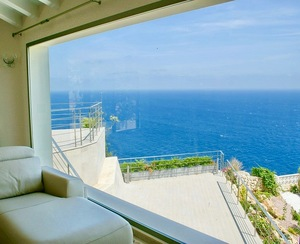 Front Line villa with Sea view in Javea.