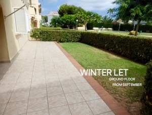 Ground floor  Apartment for winter let Javea