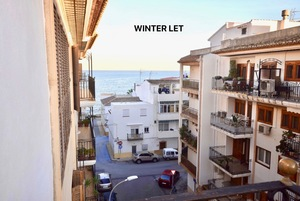 Javea Port top floor apartment to let