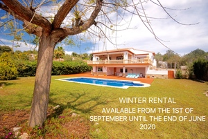 Winter rental villa Javea Portixol