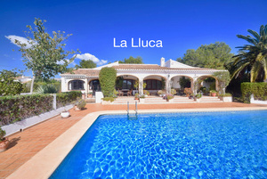Single level villa for sale Javea La Lluca
