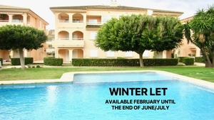 Apartment for winter let in Javea