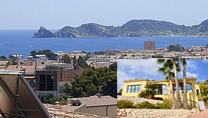 Villa for sale in Javea with sea view.