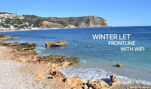 Ground floor apartment winter let Javea