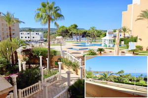 Unfurnished apartment to rent long term in Javea