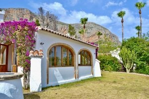 Villa to let Javea Montgo.