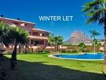 Winter rental Arenal Javea.