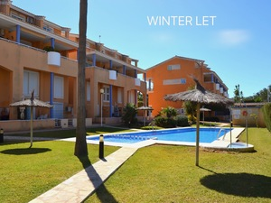 Javea Arenal Winter let apartment